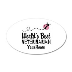 World's Best Veterinarian Wall Decal