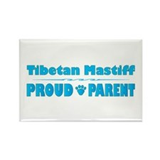 Mastiff Parent Rectangle Magnet (100 pack)
