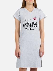 World's Best Esthetician Women's Nightshirt