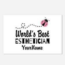 World's Best Esthetician Postcards (Package of 8)