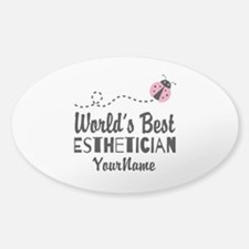 World's Best Esthetician Decal