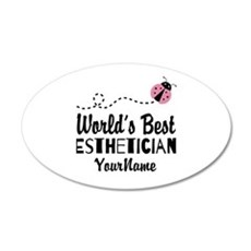 World's Best Esthetician Wall Decal Sticker