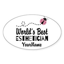 World's Best Esthetician Decal
