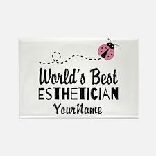 World's Best Esthetician Rectangle Magnet