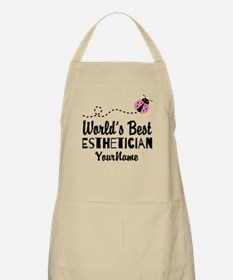 World's Best Esthetician Apron