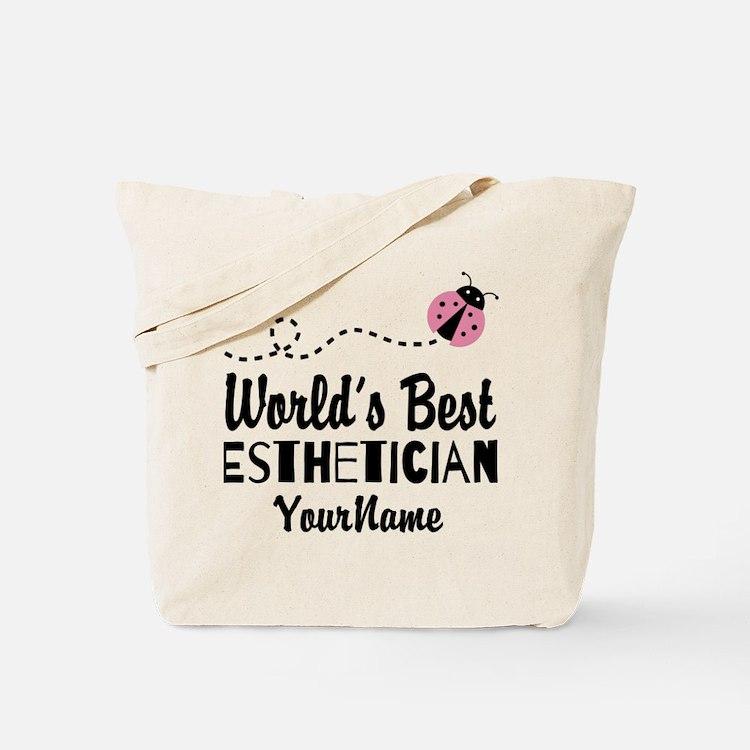 World's Best Esthetician Tote Bag