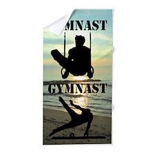 Star Gymnast Beach Towel