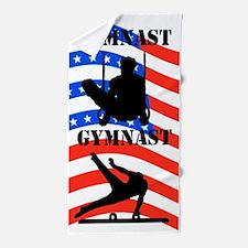 Usa Gymnast Beach Towel