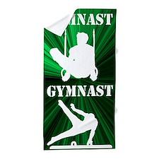 1st Place Gymnast Beach Towel