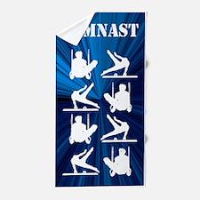 Mens Gymnast Beach Towel