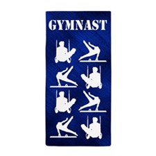 Gymnast Sport Beach Towel