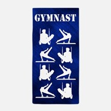 Gymnast Sport Beach Towel