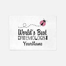 World's Best Epidemiologist 5'x7'Area Rug