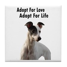 Adopt for love, Adopt for lif Tile Coaster