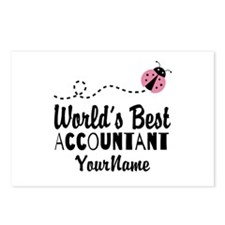 World's Best Accountant Postcards (Package of 8)