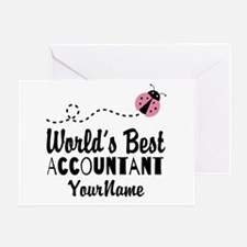 World's Best Accountant Greeting Card