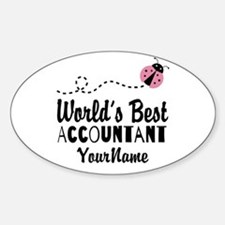 World's Best Accountant Decal
