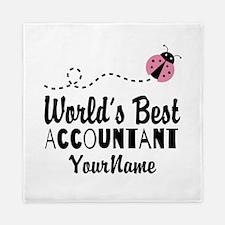 World's Best Accountant Queen Duvet