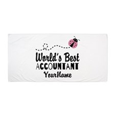 World's Best Accountant Beach Towel
