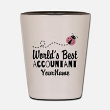 World's Best Accountant Shot Glass