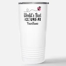 World's Best Accountant Stainless Steel Travel Mug
