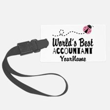 World's Best Accountant Luggage Tag
