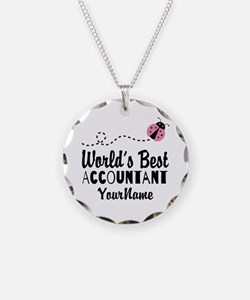 World's Best Accountant Necklace