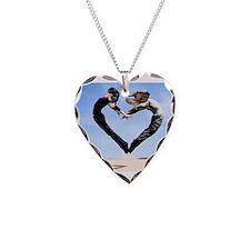 Dachshund Love Heart Necklace
