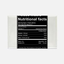 House Music Nutritional Facts Magnets