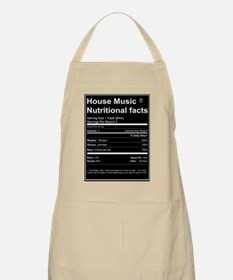 House Music Nutritional Facts Apron