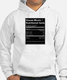 House Music Nutritional Facts Jumper Hoodie