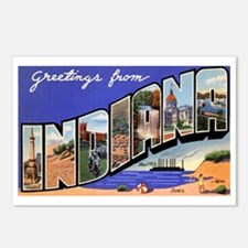 Indiana Greetings Postcards (Package of 8)