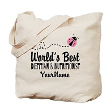 World's Best Dietitian Tote Bag