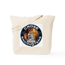 Cross Encounters Radio Tote Bag