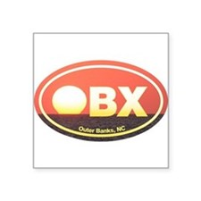 OBX Outer Banks Sunset Sticker