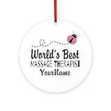 Massage therapist Ornaments