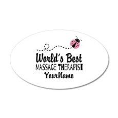 World's Best Massage Therapi Wall Decal