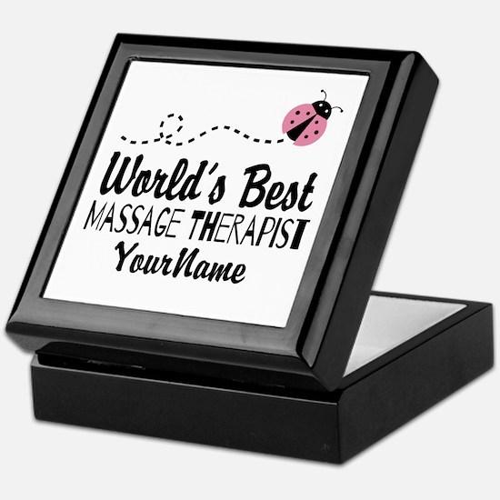 World's Best Massage Therapist Keepsake Box