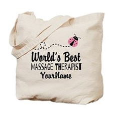 World's Best Massage Therapist Tote Bag