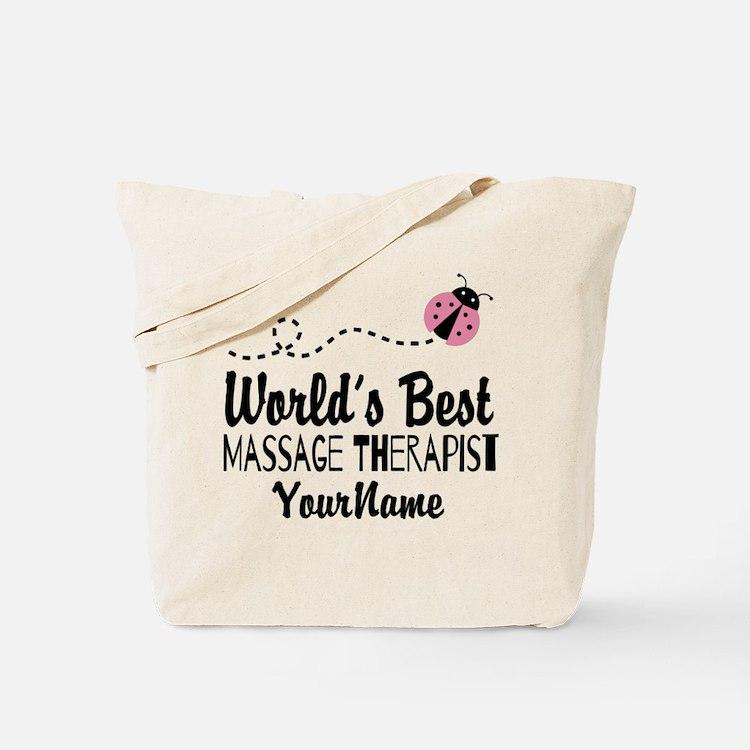 World's Best Massage Therapist Tote Bag