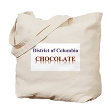 DISTRICT OF COLUMBIA CHOCOLATE Tote Bag