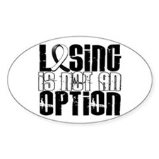 Carcinoid Cancer LosingNotOption1 Decal