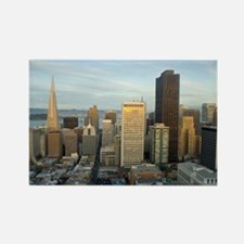 downtown san francisco offices Rectangle Magnet