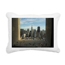 coit tower wishes Rectangular Canvas Pillow