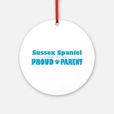 Sussex Parent Ornament (Round)