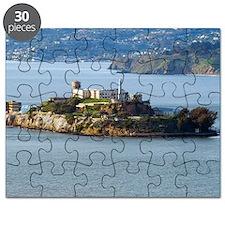 Alcatraz Island aerial view Puzzle