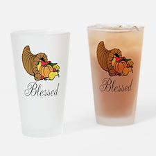 Blessed Cornicopia Drinking Glass