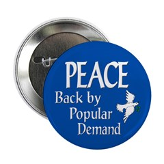 Peace is Back Button (10 pack)