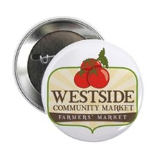 "Westside Community Market Logo 2.25"" Button"