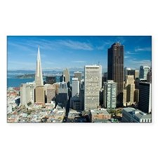 sunny downtown san francisco Decal